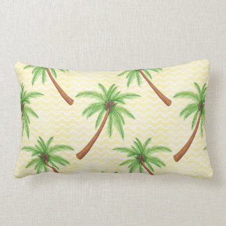 Palm Tree Lumbar Pillow