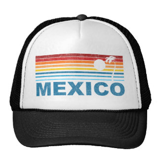 Palm Tree Mexico Trucker Hat