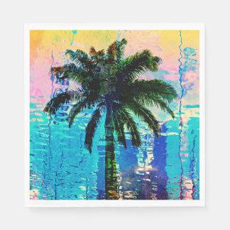 Palm Tree Napkins Paper Napkin