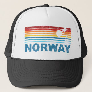 Palm Tree Norway Trucker Hat