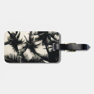 Palm Tree Photograph Luggage Tag