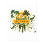 Palm Tree Poland Post Cards