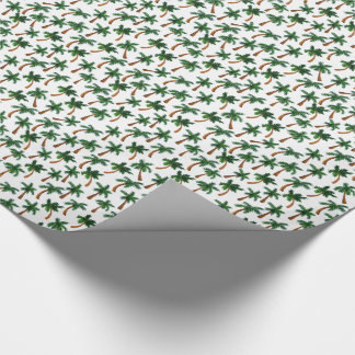 Palm Tree Print Wrapping Paper