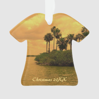 Palm Tree Reverie Dated Ornament