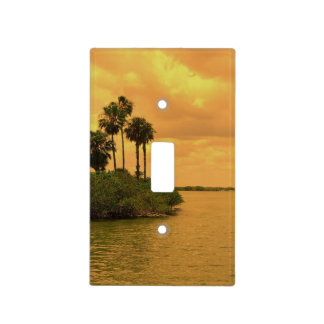 Palm Tree Reverie Light Switch Cover