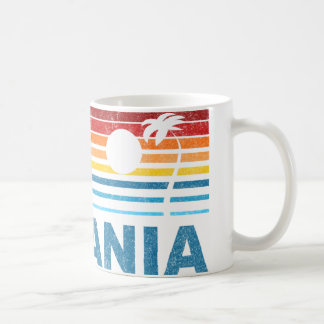 Palm Tree Romania Coffee Mug