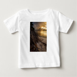 Palm Tree Roots at Sunset Baby T-Shirt