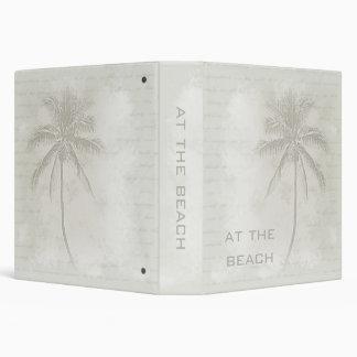 "Palm Tree (Sand) Beach Binder (1.5"")"