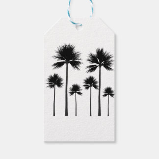 Palm Tree Silhouette Gift Tags