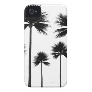 Palm Tree Silhouette iPhone 4 Case-Mate Case