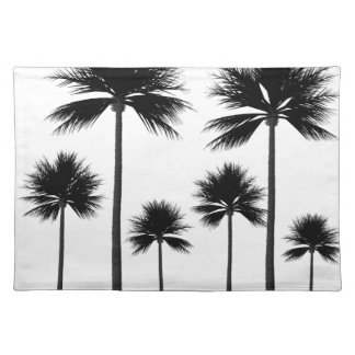 Palm Tree Silhouette Placemat
