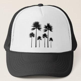 Palm Tree Silhouette Trucker Hat