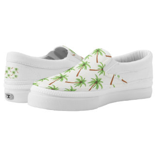Palm Tree Slip-On Sneakers