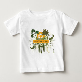 Palm Tree Slovenia Baby T-Shirt