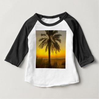Palm Tree Sunrise Baby T-Shirt