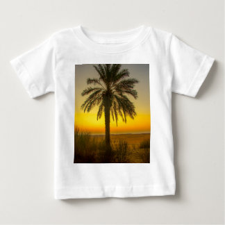 Palm Tree Sunrise Baby T-Shirt