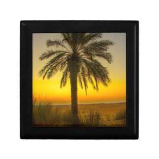 Palm Tree Sunrise Gift Box