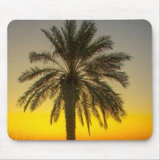 Palm Tree Sunrise Mousemat Mouse Pad