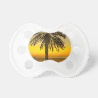 Palm Tree Sunrise Pacifier