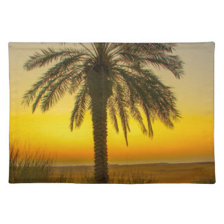 Palm Tree Sunrise Placemat