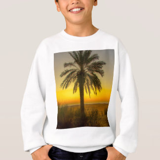 Palm Tree Sunrise Sweatshirt