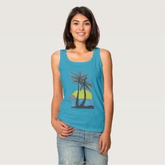 Palm Tree Sunrise Tshirt