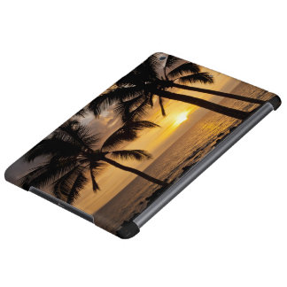 Palm tree sunset case for iPad air