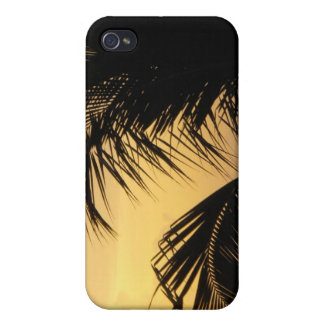 Palm Tree Sunset iphone case