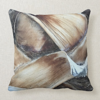 Palm Tree Textured Pillow