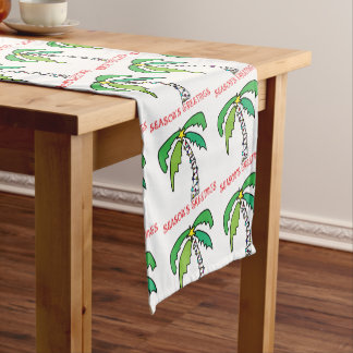 Palm Tree Tropical Holiday Table Runner