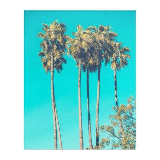 Palm tree tropical summer paradise acrylic print