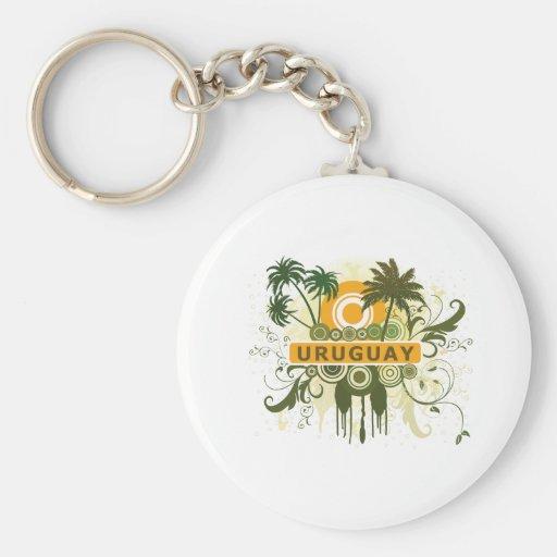 Palm Tree Uruguay Key Chains