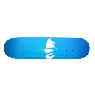 Palm Tree View Skate Board