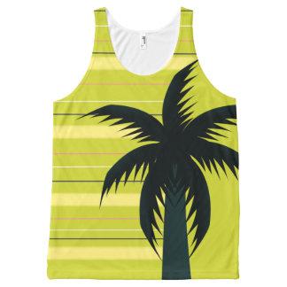 Palm tree with stripes