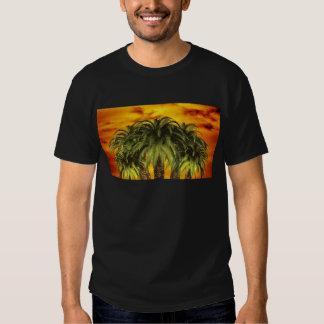 palm-trees-284544 TROPICAL FANTASY WARM ISLAND DIG Tee Shirt