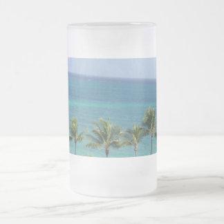 Palm Trees and Ocean mug