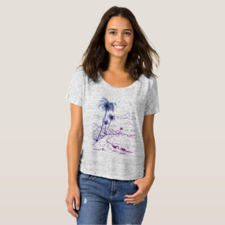 Palm Trees and Sandpiper Beach Life T-Shirt