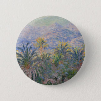Palm Trees at Bordighera 2 Inch Round Button