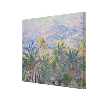 Palm Trees at Bordighera Canvas Print