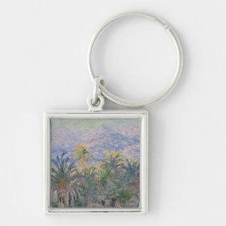 Palm Trees at Bordighera Keychain