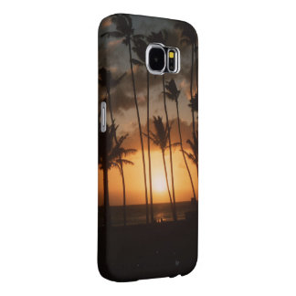 Palm Trees at Sunset Samsung Galaxy S6 Cases