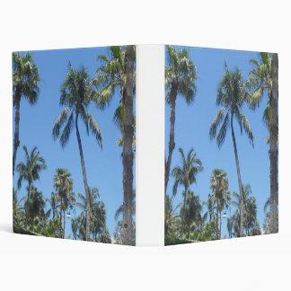 Palm Trees Vinyl Binders