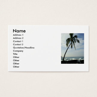 Palm Trees Business Card