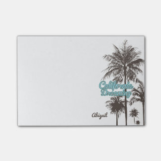 Palm Trees, California Dreaming Post-it® Notes