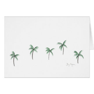 Palm Trees Cards