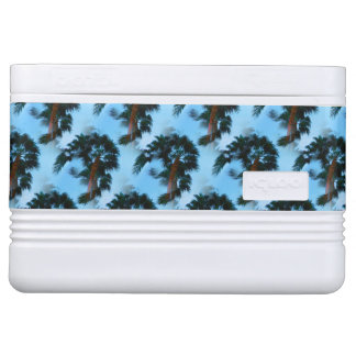 Palm trees cooler