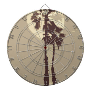 Palm Trees Dartboard