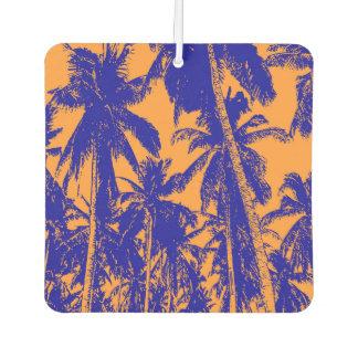 Palm Trees Design Car Air Freshener