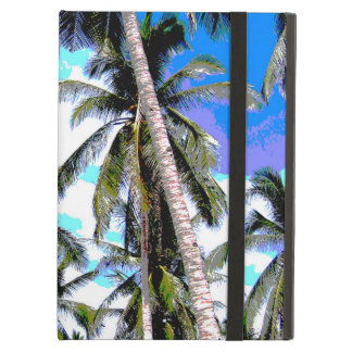 Palm Trees in a Posterised Design Cover For iPad Air