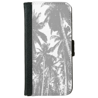 Palm Trees in a Posterised Design iPhone 6 Wallet Case